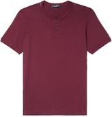 Dolce & Gabbana Cotton-jersey Henley T-shirt