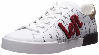 Kenneth Cole New York Women's Tyler LR Varsity Patch Laceup Sneaker
