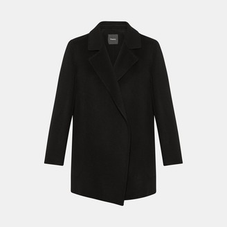 Theory Clairene Jacket in Double-Face Wool-Cashmere