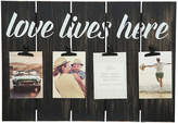 Asstd National Brand 12X18 Love Lives Here Clip Frame