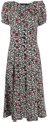 Polo Ralph Lauren Floral-Print Short-Sleeve Dress