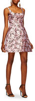 Cynthia Rowley Secret Garden Jacquard Fit-and-Flare Dress