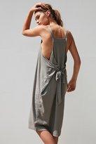 Silence & Noise Silence + Noise Apron Wrap Midi Dress
