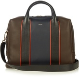 Paul Smith Shoes & Accessories Colour-block Leather Piped Briefcase