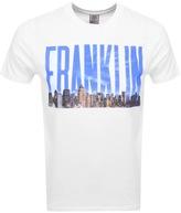 Franklin & Marshall Franklin Marshall Logo T Shirt White