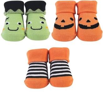 Hudson Baby Newborn Boy Socks Gift Set, 3pc