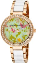 Laura Ashley Women's LA31007WT Analog Display Japanese Quartz Two Tone Watch