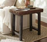 Pottery Barn Griffin Reclaimed Wood Side Table