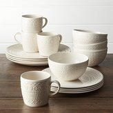 Crate & Barrel Scribe 16-Piece Place Setting