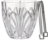 Marquis by Waterford Brookside Crystal Ice Bucket with Tongs