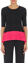 Opening Ceremony Women's Linear Delta Top-BLACK