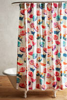 Anthropologie Magnolia Shower Curtain