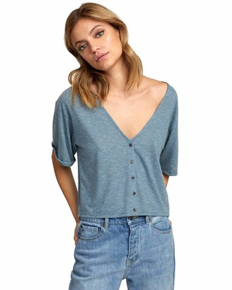 RVCA Women's CHALKED TOP