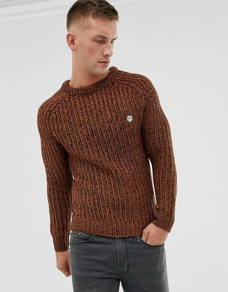 Le Breve thick knitted jumper