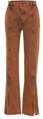 Y/Project High-rise flared jeans