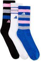 adidas Women's 3-Pk. Retro II Crew Socks