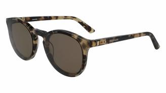 Calvin Klein Men's 244 Round Sunglasses
