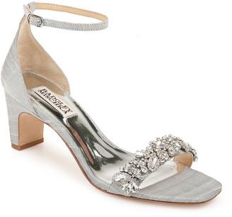 Badgley Mischka Jackie Low-Heel Sandals