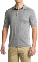 Ibex Crosstown Polo Shirt - Merino Wool, Short Sleeve (For Men)