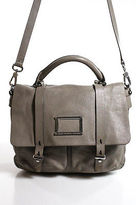 Marc by Marc Jacobs Gray Leather Medium Satchel Handbag