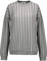 Alexander Wang Devoré cotton sweatshirt