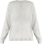 Vince Round-neck cotton-jersey sweatshirt