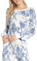 PJ Salvage Women's Floral Long Sleeve Top