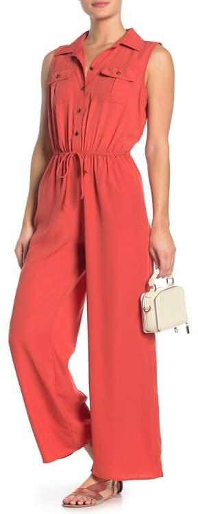 BeBop Sleeveless Shirttop Jumpsuit