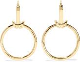 Noir Gold-tone earrings