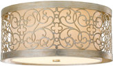 Feiss Arabesque 2-Light Flush Mount