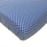 One Grace Place Simplicity Blue Changing Pad Cover, Blue and White by