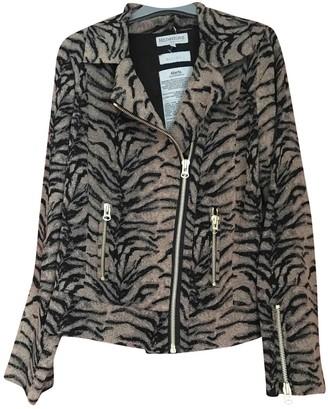 Heimstone Beige Leather Jacket for Women