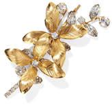 Jennifer Behr Layla Bobby Gold-plated Swarovski Crystal Hair Slide - one size