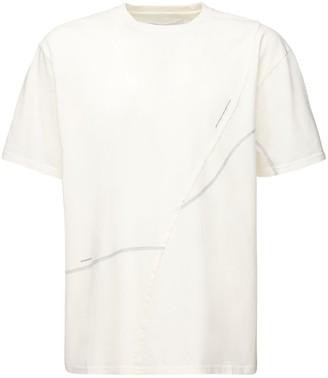 C2H4 Crooked Seam Jersey T-Shirt