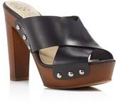 Vince Camuto Elora High Heel Platform Slide Sandals