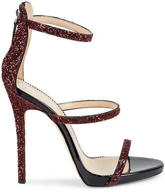 Giuseppe Zanotti Coline Leather Ankle-Strap Sandals