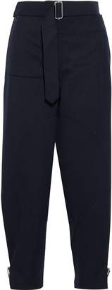 J.W.Anderson Layered Belted Wool-twill Tapered Pants