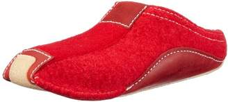 Haflinger Unisex Adults' Pocahontas Open Back Slippers, (), 5 UK