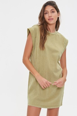 Forever 21 Mineral Wash T-Shirt Dress