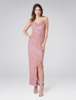 Forever New Polly Maxi Dress - Blush - 12