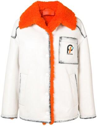 Prada oversized jacket