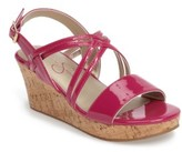 Jessica Simpson Girl's Felix Wedge Sandal