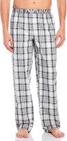 Emporio Armani Plaid Woven Lounge Pants