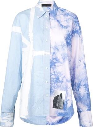 Proenza Schouler Tie-Dye Button-Up Shirt