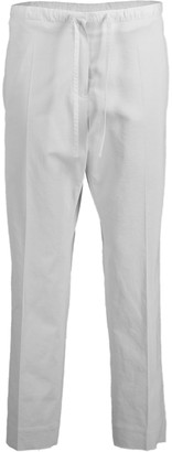 Jil Sander Drawstring Cropped Pant