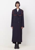 Acne Studios navy ayer wo s np coat