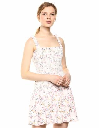 Ali & Jay Women's Eastside Luv Sleeveless Stretch Ruffle Mini Dress