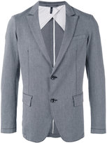 Armani Jeans striped blazer - men - Cotton/Spandex/Elastane - 48