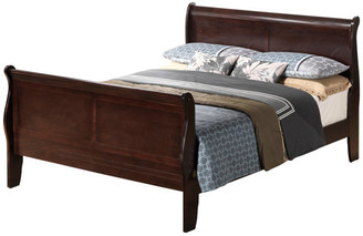 Glory Furniture Camanche Bed, Cappuccino, King