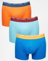 Jack & Jones 3 Pack Trunks - Multi